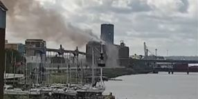 UK's Largest Grain Terminal Reports Massive Explosion