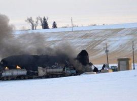 The fire that broke out Dec. 29, 2012, at Custom Carbon Processing in Montana was still burning two days later.