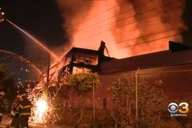 Warehouse Fire in Philadelphia Goes to Six Alarms