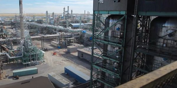 The Co-op Refinery Complex at Regina, Saskatchewan.