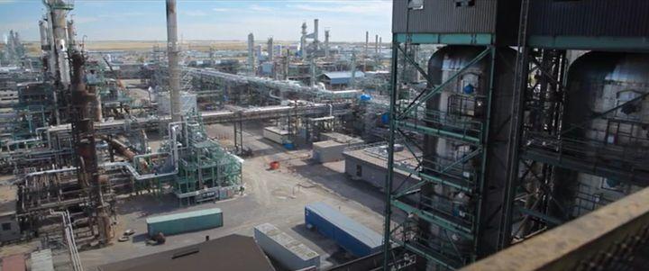 The Co-op Refinery Complex at Regina, Saskatchewan. - Screencapture Via YouTube