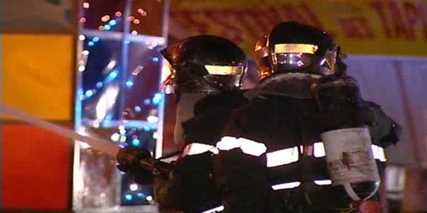 Firefighters withServiceDépartementald'IncendieetdeSecours 62.