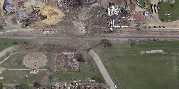 A massive explosion at a fertilizer storage facility in West, Texas, killed 12 volunteer...