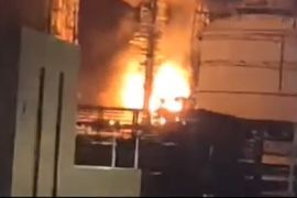 Fire Reported at Petrochemical Plant in the Philippines