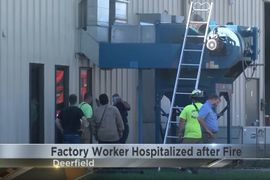 Michigan Worker Overcome By Smoke During Plant Fire