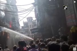 Plastics Factory Fire Reported in Northern India