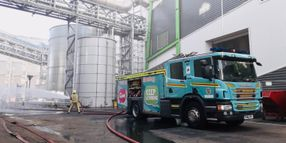 Renewable Energy Plant Fire Breaks Out in England