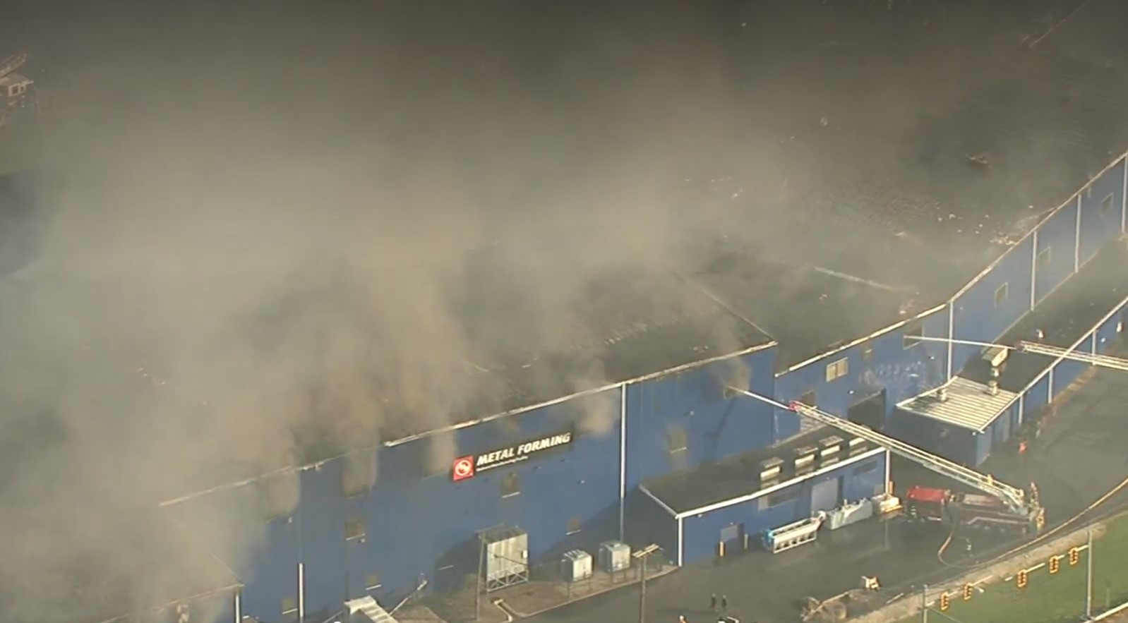 Mechanical Breakdown Triggers Fire at Ohio Auto Parts Plant