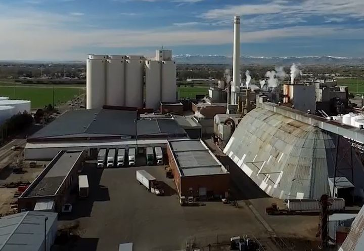 The Amalgamated Sugar plant in Nampa, Idaho. - Screencapture Via YouTube