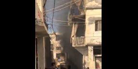 Blaze Reported in Lebanon Paint Warehouse