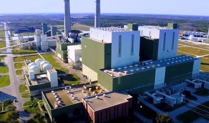 The Stanton Energy Center in Orange County, Florida. - Screencapture Via YouTube