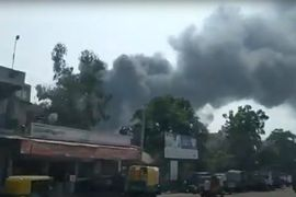 Fire Breaks Out at Chemical Plant in Western India