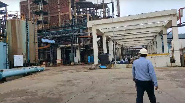 The Chemiorganic Chemicals plant in Jhagadia, India. - Screencapture Via YouTube
