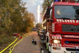 Hazmat Transferred From Damaged Railcar in Germany