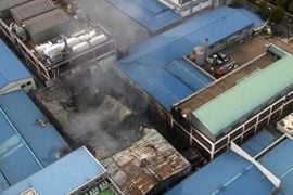 Firefighter Injured Battling South Korean Factory Blaze