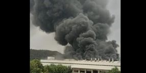 Major Fire Reported at Motorcycle Factory in India
