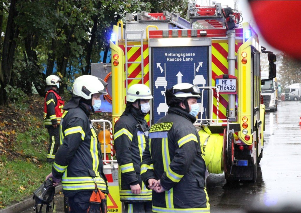 German Automotive Foundry Fire Quickly Contained