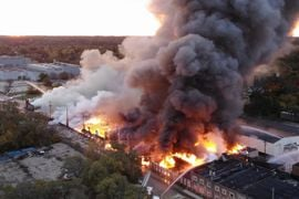 Fire Devastates Historic Manufacturing Plant in Illinois