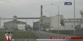 Dust System Fire Reported at North Dakota Co-op