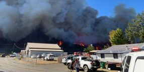 California Wildfire Investigators Seize Utility Equipment