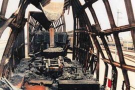 Mammoth Eurotunnel Blaze Marks 24th Anniversary