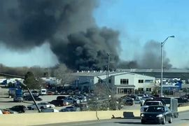 Alternative Fuel Plant Burns in Northwest Indiana