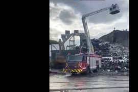 Fire Breaks Out at Illinois Metal Recycling Facility