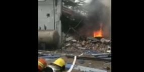 Chemical Plant Explosion in China Kills 2, Injures 6
