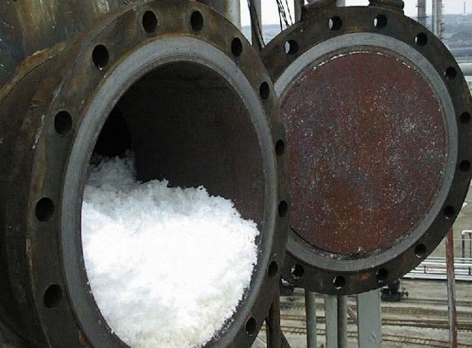 Popcorn polymer in a manhole from another undisclosed butadiene unit. - Photo Courtesy International Institute of Synthetic Rubber Producers
