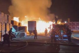 California Box Plant Reports 2-Alarm Weekend Blaze