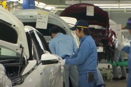 Parts Plant Fire Closes Japanese Auto Assembly Sites