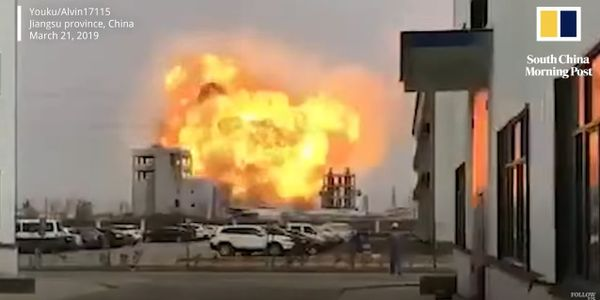 The March 21, 2019 explosion at a fertilizer plant in eastern China killed 78 people.