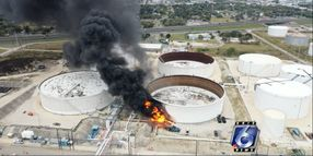 Critical Injuries Reported in Corpus Christi Terminal Blast