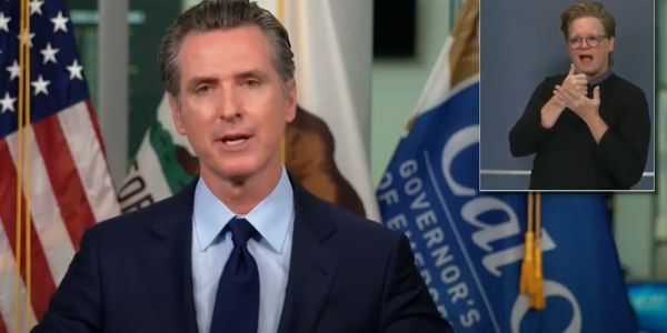 Gov. Gavin Newsom signed SB1044, banning the sale and manufacture of PFAS firefighting foam in...