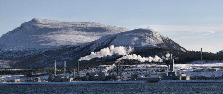 Tjeldbergodden Industrial Complex in Nordmore, Norway. - Janter, CC BY-SA 3.0