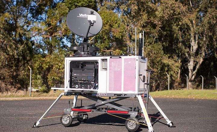 Z-Axis for FirstNet is now available in more than 105 markets across the country. - Photo Courtesy of AT&T