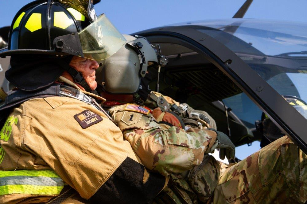Preplanning and Training for Aircraft Fires