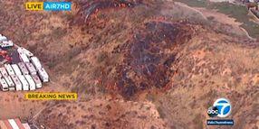 Santa Clarita Explosion Critically Injures Three, Ignites Brush Fire