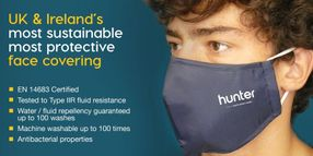 Hunter Launches EN14683 Certified Face Cover With Type IIR Fluid Resistance