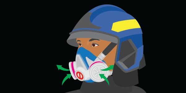 The MSA Advantage 290 is a NIOSH-approved respirator without an exhalation valve. -