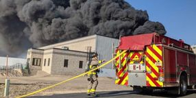Firefighters Battle Large Fire at Alter Metal Recycling in La Crosse