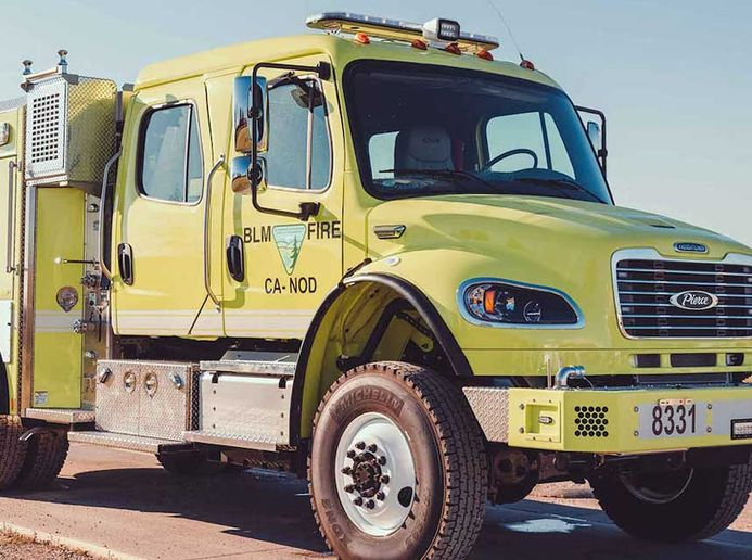 RollTek's Side Roll Protection System is now exclusively available as an option in Pierce Manufacturing's Freightliner commercial chassis. - Pierce Manufacturing Co.