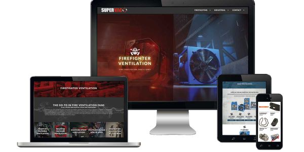 Super Vac Launches New Fire Ventilation Equipment Website