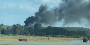 Helicopter Crashes in South Florida During Firefighter Training Exercise