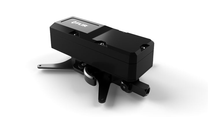 The FLIR MUVE™C360 is a multi-gas detector completely integrated with an unmanned aerial system (UAS) to provide real-time continuous monitoring of chemical hazards while on the move. - FLIR