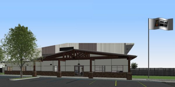 Construction is currently underway, with a ribbon-cutting event planned for June 21, 2021.