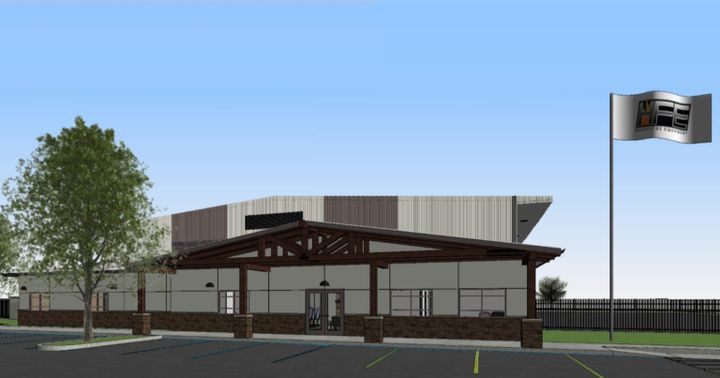 Construction is currently underway, with a ribbon-cutting event planned for June 21, 2021. - Hughes Fire Equipment Inc.
