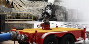 US Fire Pump Responds to Chemtool Fire