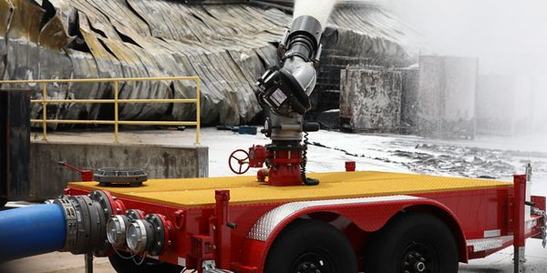 US Fire Pump has sent 27 industrial fire specialists and specialized equipment, submersible...