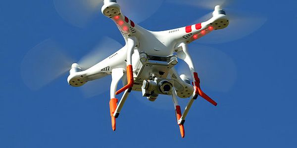Drones are becoming an important tool in battling industrial fires.